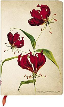 Notebook, Painted Botanicals Gloriosa Lily, Mini Lined