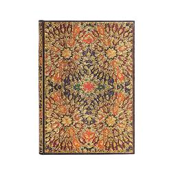 Notebook - Fire Flowers - Midi - Lined - 240pgs