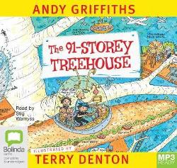 91-Storey Treehouse (MP3 Audio Book)