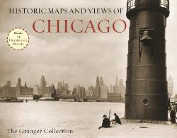 Historic Maps and Views of Chicago - 24 Frameable Maps and Views