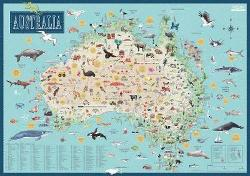 Australia: Illustrated Map