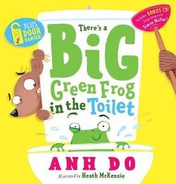 There's a Big Green Frog in the Toilet + CD with Door Hanger