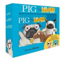 Pig the Winner + Finger Puppets