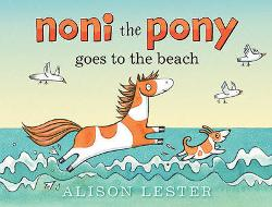Noni the Pony Goes to the Beach - Board Book