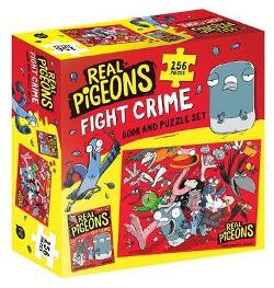 Real Pigeons Fight Crime Book and Puzzle Set