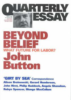 Quarterly Essay 06 - Beyond Belief
