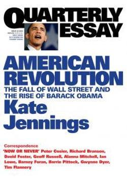 Quarterly Essay 32 - American Revolution
