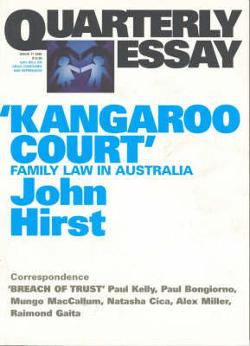Quarterly Essay 17 - Kangaroo Court