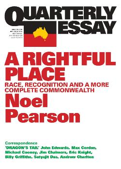 Quarterly Essay 55 - Race and Recognition