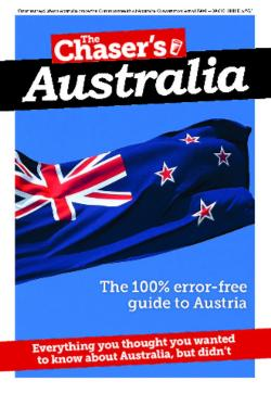 Chaser's Australia: Everything You Thought You Needed to Know About Australia but Didn't