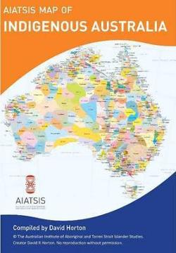 AIATSIS Map of Indigenous Australia - Flat - A3