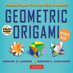 Geometric Origami Mini Kit - 3D Paper Fun for Kids and Adults