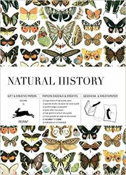 Wrapping Paper Book - Natural History